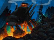 Dark battle