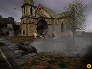 Destroyed village beta