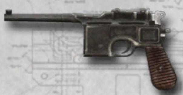"C96 ""Broomhandle"" Mauser"