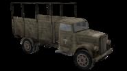 Opel truck Desert render