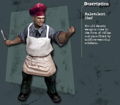 Malevolent chef