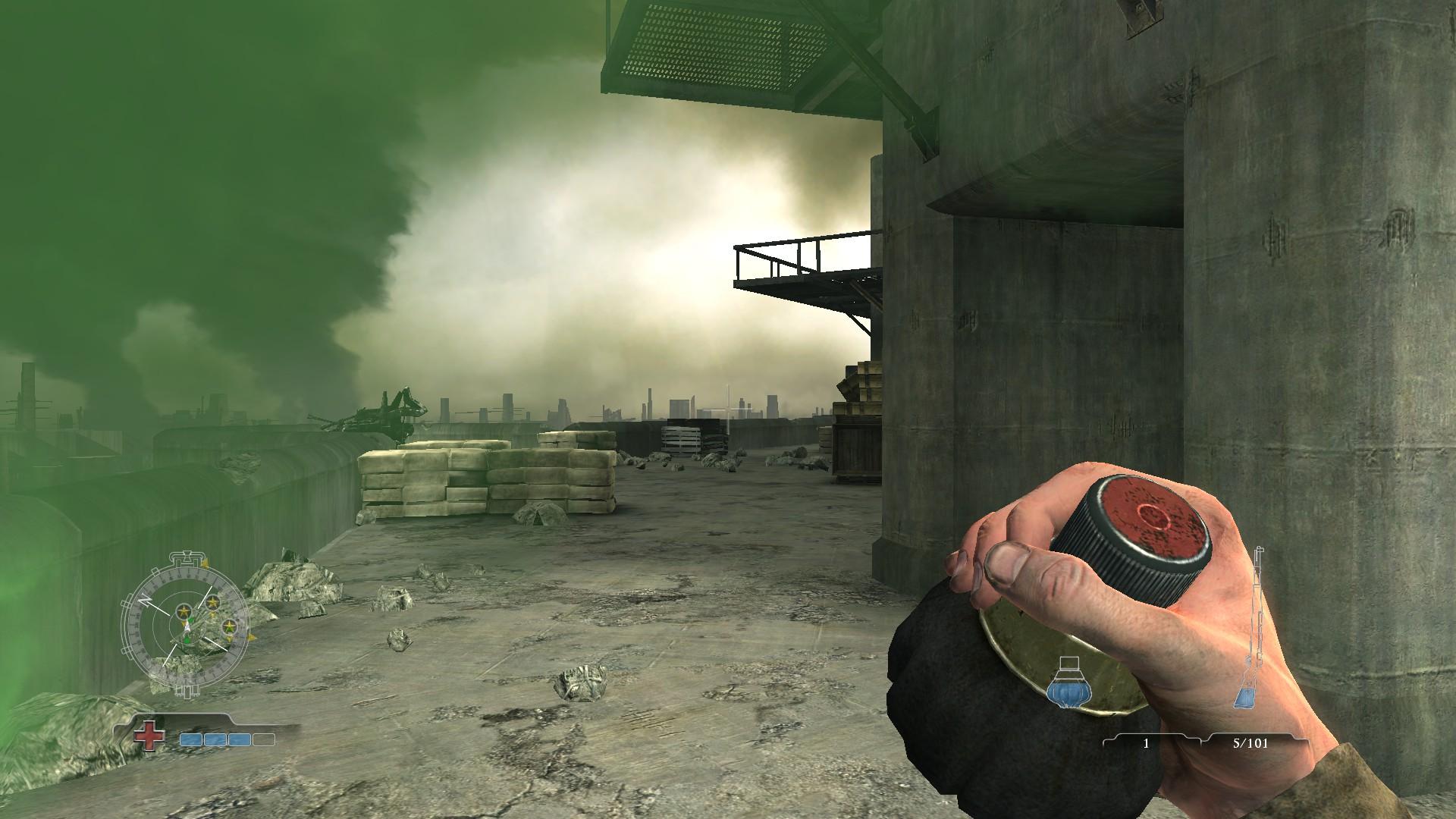 Gammon grenade