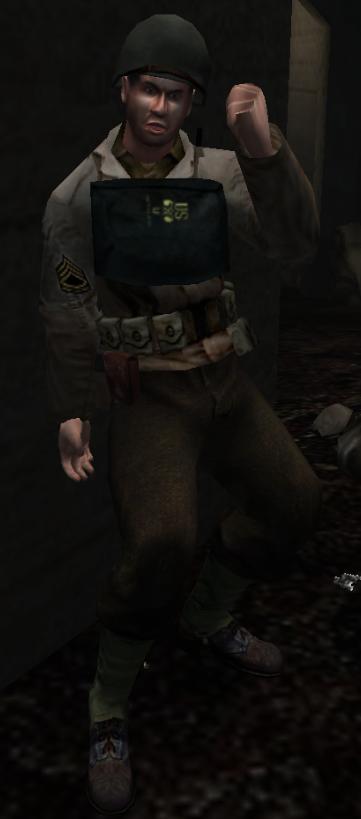 Sergeant (Omaha Beach)
