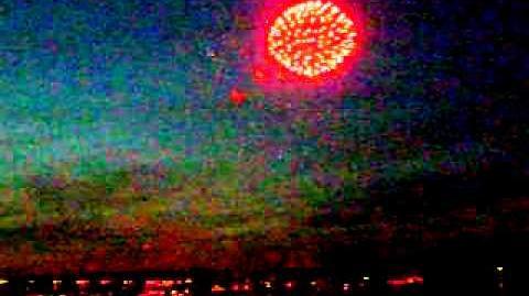 Feuerwerk Johannisnacht 2011