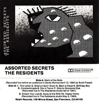 Cassette release, 1984