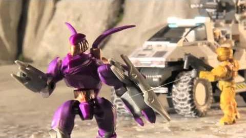 Mega Bloks Halo -- Assault on Squad 45 Episodes 1 - 4