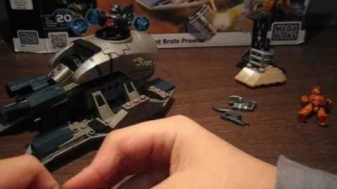 Halo Mega Blocks Brute prowler first review !!!!!!!!!!!!!!!!!!