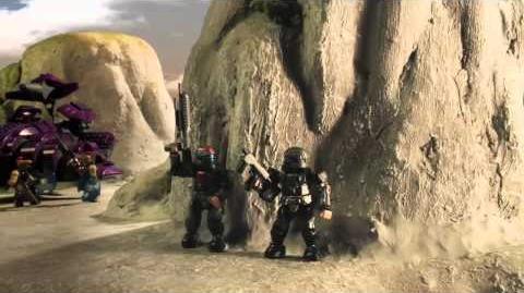 Halo Mega Bloks -- Assault on Squad 45 Part 2