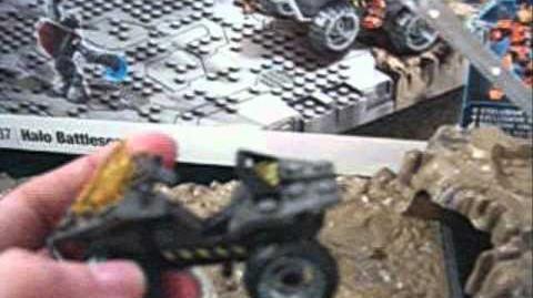 Halo Mega Bloks - Battlescape video review