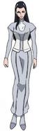 Yukiko Shirato in casual clothes.