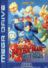 Mega Man The Wily Wars box