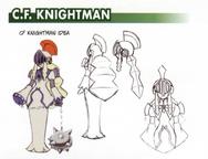 C.F. KnightMan - Pride concept art.