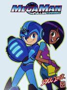 Mega Man Aki and Suna