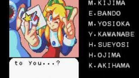 Mega Man & Bass Mega Man's ending