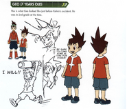 Concept art of Geo (7 Years Old)