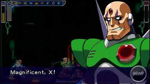 Megaman Maverick Hunter X -PSP- Sigma Palace 4 & Ending 100%