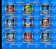 Rockman 3 Stage Select
