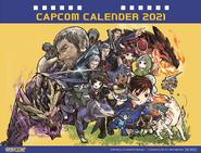 Capcom Calendar 2021