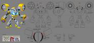 Mega Man Fully Charged Air Man Concept C