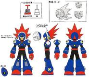 MM11 Blast Man concept