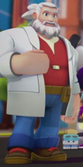 Doctor Thomas Light (Mega Man: Fully Charged)