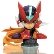Rockman Zero & ZX Double Hero Collection Limited Edition bust
