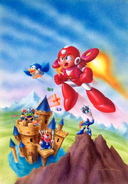 Mega Man 6 box art
