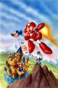 Mega Man 6 box art