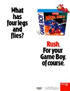 Mega Man II Advertisement