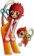 MMZ Cyber-elf Animal (Monkey)