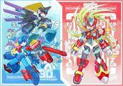 ToruNakayamaE-Capcom Rockman30thAnniversaryArtbookIllustration