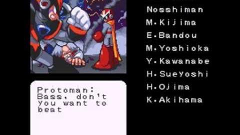 Mega Man & Bass - Bass's Ending