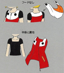 MM11 Roll clothes