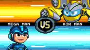 MMFC Mega Man VS Air Man