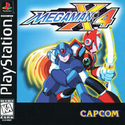 Mega Man X4 (PlayStation) (US)