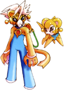 MMZ Cyber-elf Animal (Cheetah)