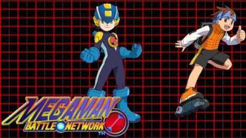 Mega Man Battle Network OST - T09 Running Through the Cyber World (NumberMan's Stage)