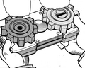 R11 Double Gear System