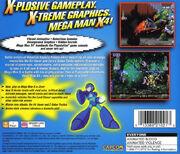 Mega Man X4 (PlayStation) (EU) back