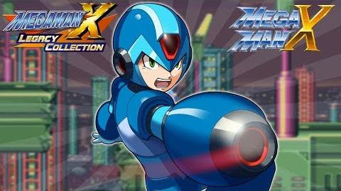 Mega Man X Legacy Collection 1 + 2 Mega Man X FULL GAME! (Switch, Xbox One, PS4, PC)
