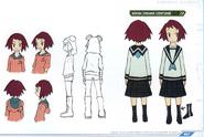 Concept art of Sonia (Drama Costume)