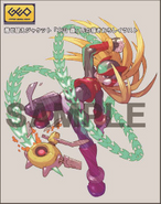 Rockman Zero & ZX Double Hero Collection bonus (Chain Rod)