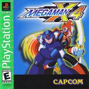 Mega Man X4 (PlayStation) (EU)
