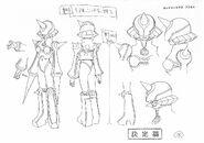 Ms. Yuri - Sketch 2