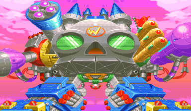 Wily Castle (Mega Man 2: The Power Fighters)
