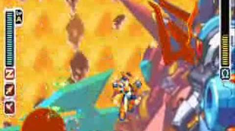 Megaman Zero 3 Omega Final Boss Battle