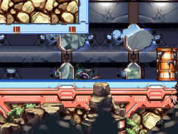 Mega Man ZX locations