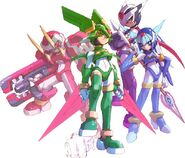 Four guardians