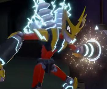 Elec Man (Mega Man: Fully Charged)