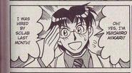 Yuichiro Hikari in NT Warrior manga